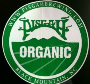 This Pisgah Brewing logo is about to become a relic as the brewery drops its organic certification.