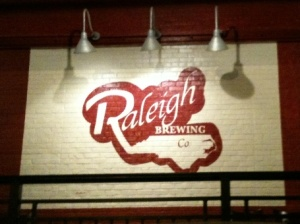 Raleigh Brewing sign